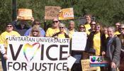 Se manifiestan a favor del aborto en Houston