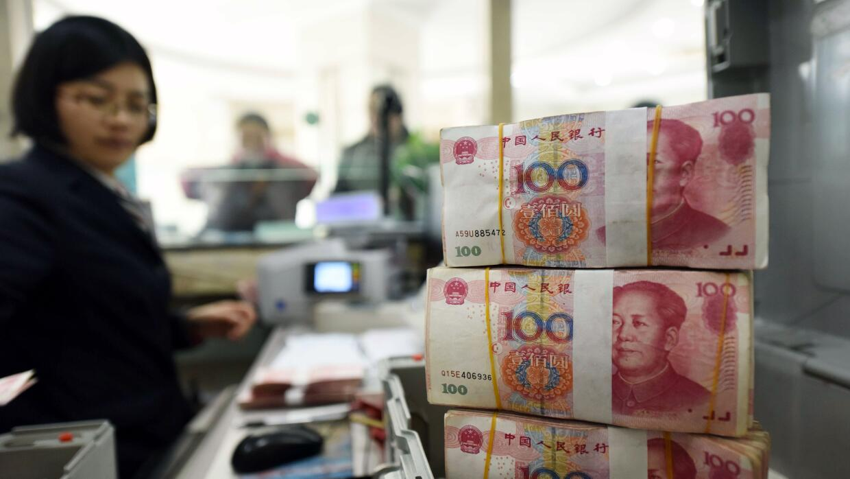 PIB China (Imagen de archivo)