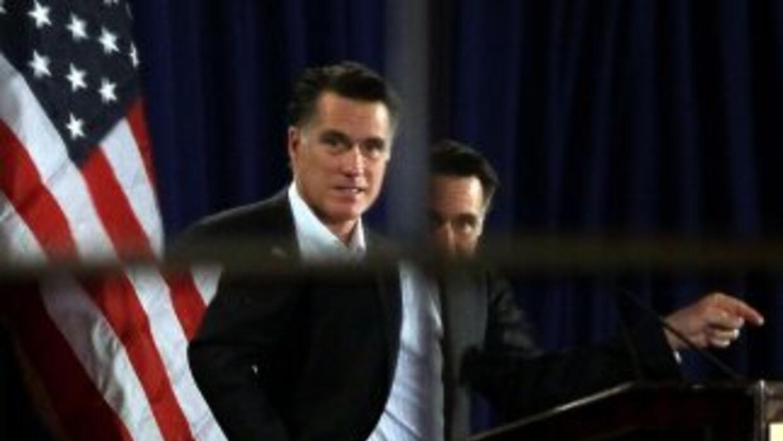 Mitt Romney parece estar deslizándonse en las encuestas en New Hampshire...