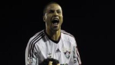 Con un gol de Fred, el Fluminense logró un ajustado triunfo frente al Ca...