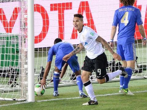 El peruano Paolo Guerrero anotó el gol que le dio forma definitiv...
