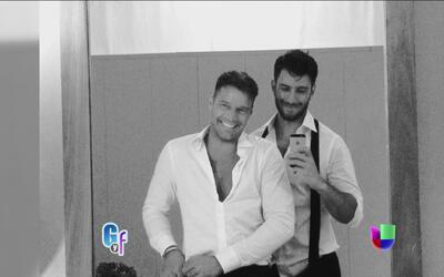 Ricky Martin no deja de presumir a su novio y la felicidad que siente