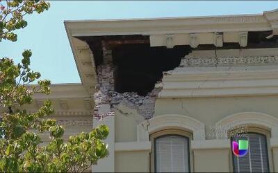 Recorrido por las zonas afectadas en Napa Valley tras temblor de 6 grados