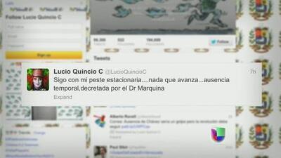 Venezuela acusa a tuitero de instigar al terrorismo