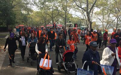 Unas 3,000 personas acudieron al evento de la organización Caring...