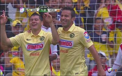 América vs Morelia: Pablo Aguilar anotó un golazo de laboratorio para la...