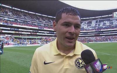Pablo Aguilar: 'Contento por el gol que nos dio el triunfo'