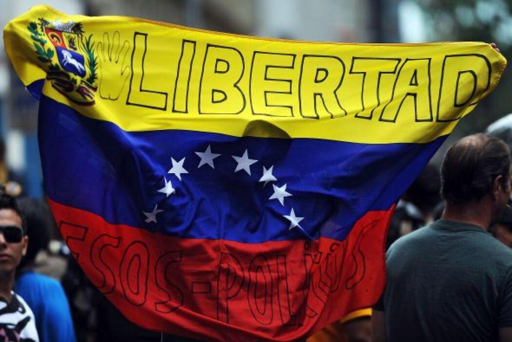 """""""Desde mi punto de vista, lo que ocurre en Venezuela es catastrófico"""", d..."""