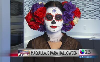 Un minuto contigo: fácil maquillaje de Halloween
