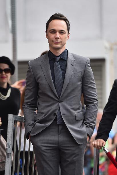 Jim posando antes de la ceremonia.