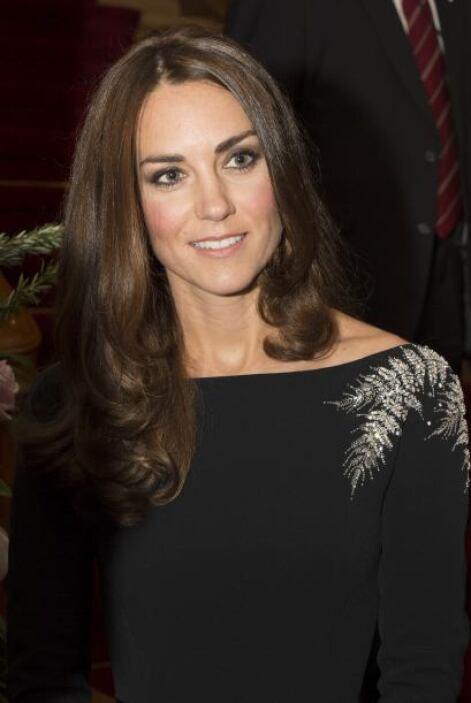 Kate también hizo algunos cambios, se arriesgo un poco más con su maquil...