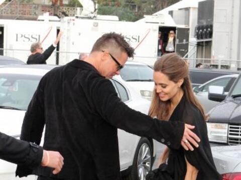 Un día antes de los Premios de la Academia, Brad y Angelina fuero...
