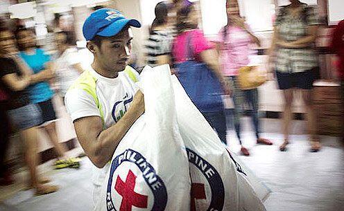 La Cruz Roja Americana anunció que está prestando ayuda a la Cruz Roja d...