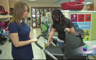 Milly Méndez fue en busca de un coche y ya piensa en tener un segundo bebé