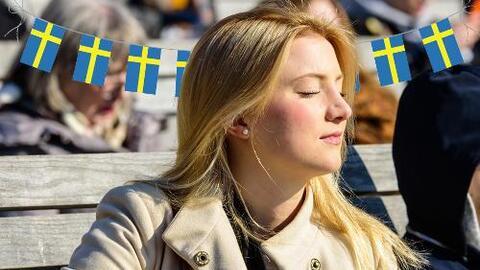 Las mujeres suecas cuidan su alimentación.