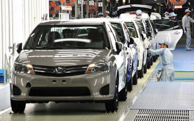 Toyota posee 10 plantas ensambladoras en Estados Unidos.
