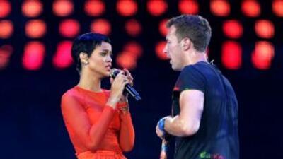 Rihanna y Chris Brown han compartido el escenario en varias ocasiones.