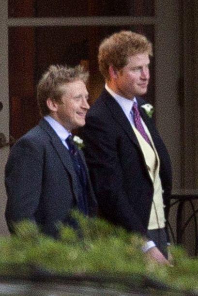 Los príncipes de Inglaterra, Harry y William aprovecharon muy bie...