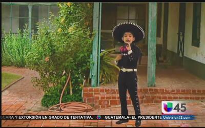 Christo Escalante: un niño con corazón de mariachi
