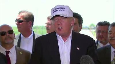 Trump dice que ha empleado a latinos por años