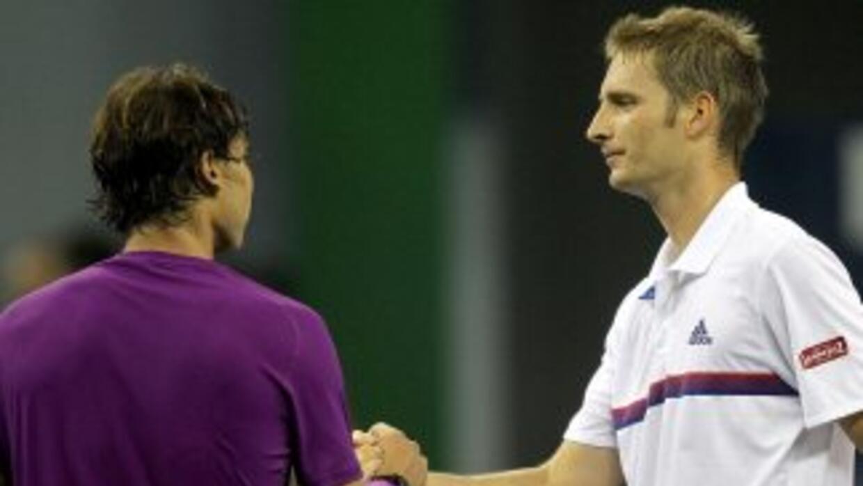 El español no tuvo una buena tarde y fue eliminado del Masters de Shanghai.