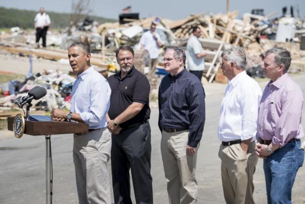 Obama ha firmado declaraciones de desastre para cuatro condados de Arkan...