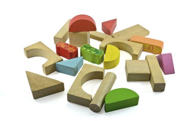 Dificultad en notar diferencias entre tamaño, formas y colores.