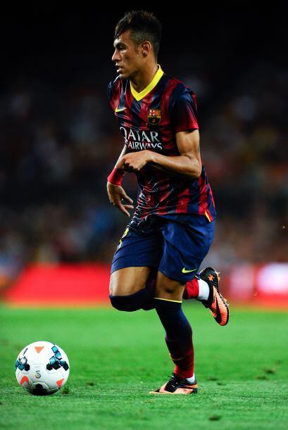 Neymar dejó pinceladas de su clase en los 45 minutos de la segund...