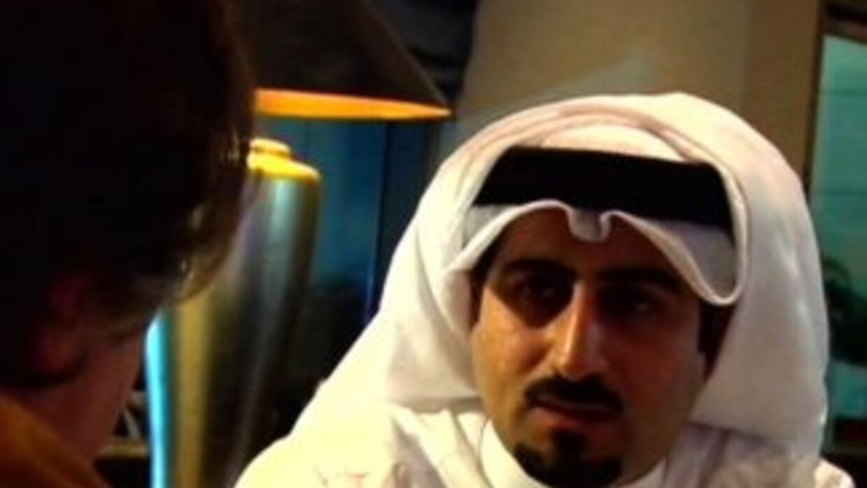 Omar bin Laden habló a solas con 'Aquí y Ahora'.