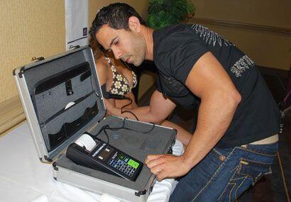 Con este aparato José supo, exactamente, cuánto porcentaje de grasa tien...