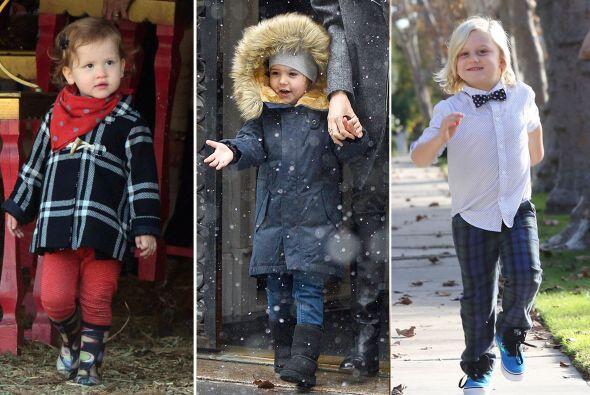 ¡Estos hijos de famosos lucieron tiernamente las tendencias más lindas y...