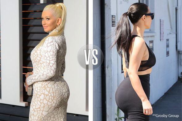 Pues Kim debería tener más cuidado con sus curvas, pues las de Chris est...