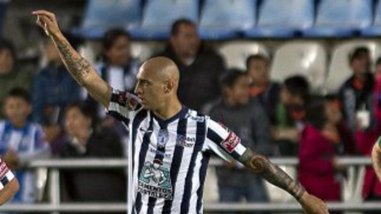 Ariel Nahuelpán ya suma siete goles en lo que va del torneo.