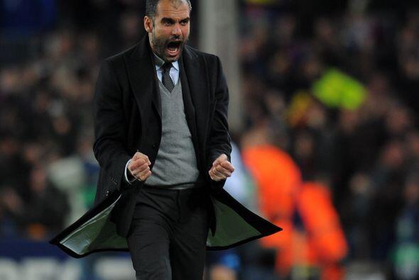 Pep sacó toda la presión con el tanto del argentino.