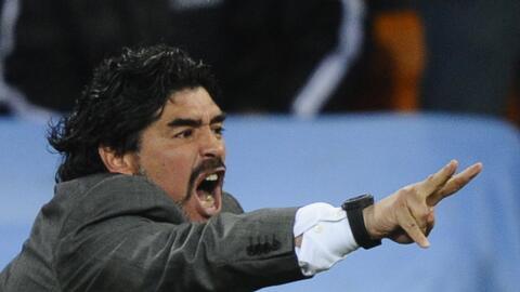 A Maradona no le gustó que Higuaín se fuera del Nápoles