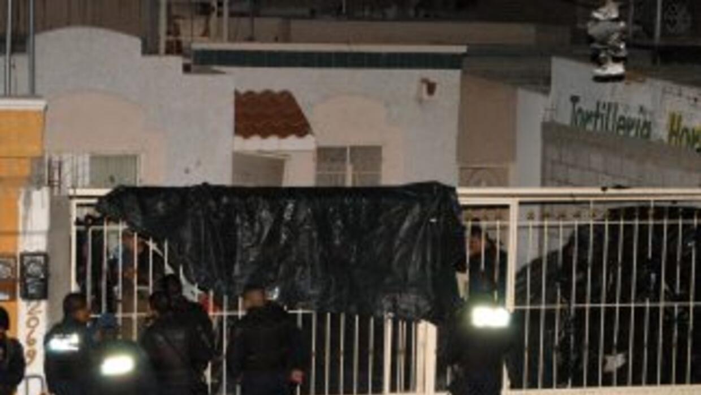 La matanza tuvo lugar en un domicilio particular, donde se celebraba una...