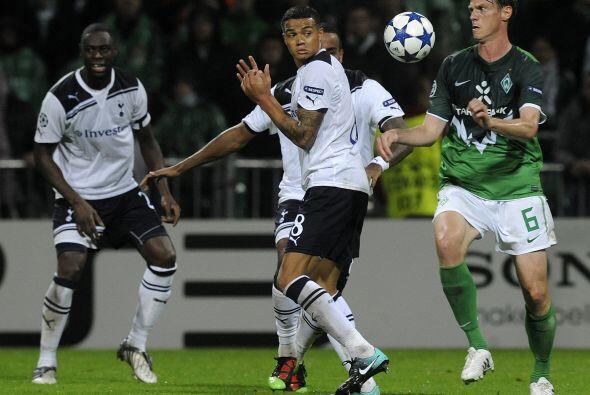 Tottenham y Werder Bremen protagonizaron un duelo en el que no faltaron...