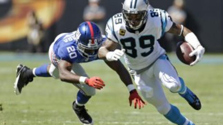 Steve Smith salió de los Panthers y llegó a los Ravens (AP-NFL).