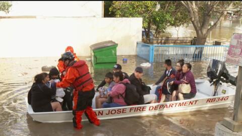 Expanden la orden de evacuación en San José debido al riesgo de más inun...