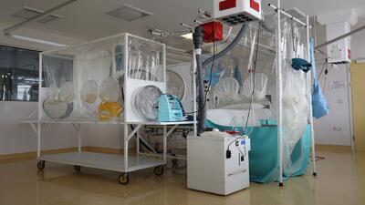 Ponen a un paciente bajo observación por ébola en Kansas