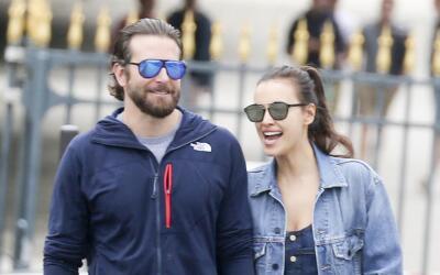 Irina Shayk y Bradley Cooper de manita sudada por París.
