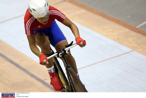 La velocista cubana Marlies Mejías ganó la medalla de oro en la final de...