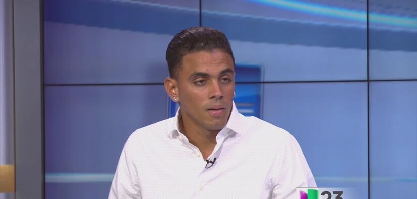 El desertor cubano Darío Suárez habla con Noticias 23