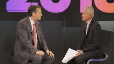 Entrevista completa y en exclusiva a Ted Cruz el precandidato republican...