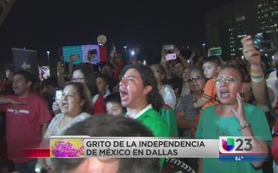 Mexicanos celebran 'Grito de Independencia' en Dallas