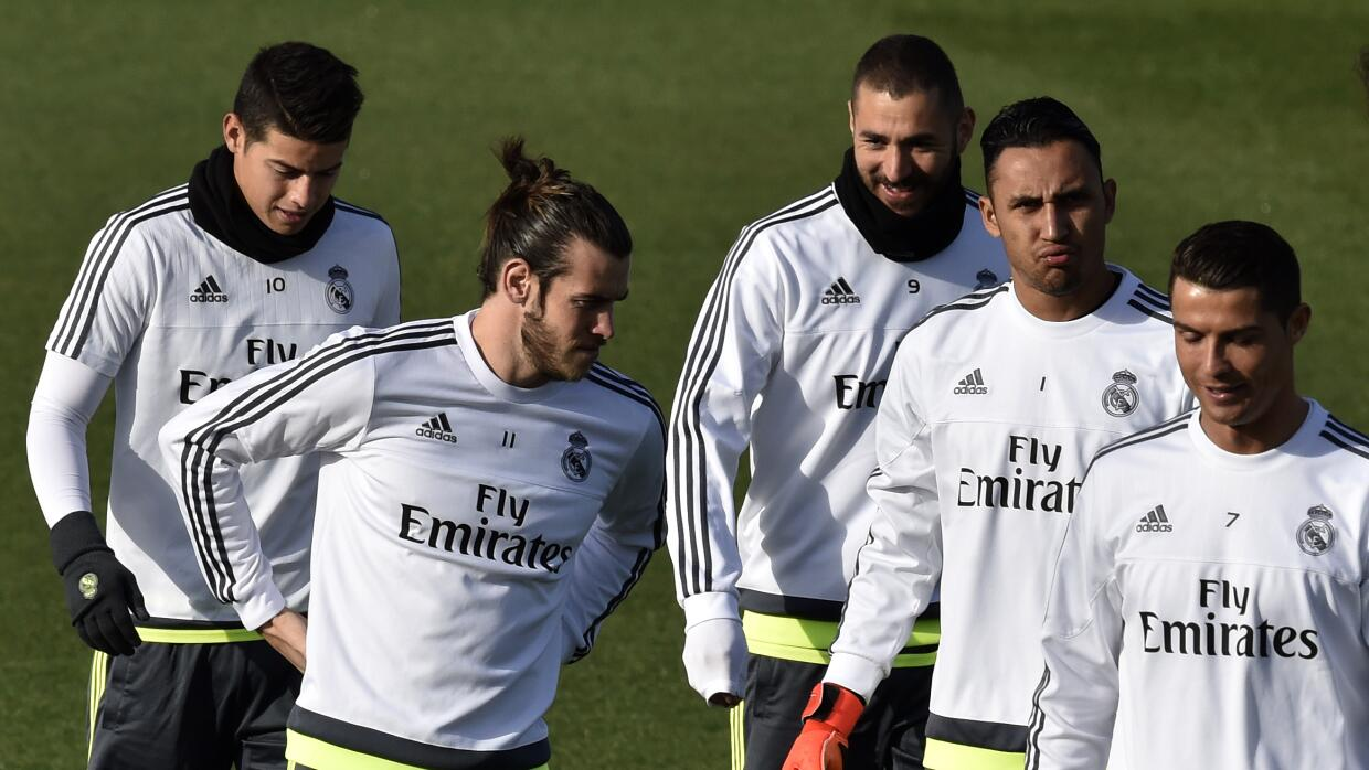 Entrenamiento Real Madrid