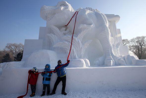 Al norte de China, la ciudad de Harbin, capital de la provincia de Heilo...