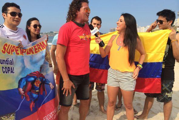 Dijo sentirse orgulloso de ser colombiano y espera que un país de Améric...