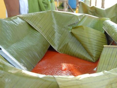 Técnicas e ingredientes totonacas en Cumbre Tajín 2012