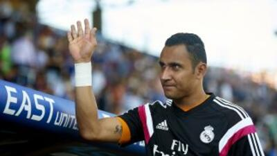 Keylor Navas ya no ocupará plaza de extranjero en el Real Madrid.